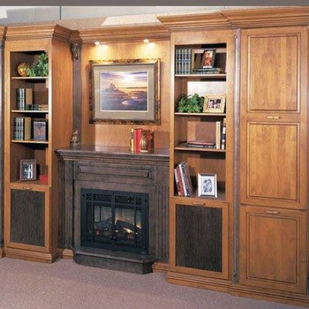 Living Room Cabinets Shelves Sazbro Builders Inc